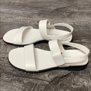 NWT Cabin Creek White Strap Sandals